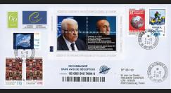 "CE62-IVa : 10.2011 - FDC Recommandée CE ""Discours M. Abbas"