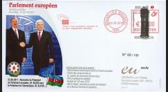 """BR113 : 22.06.11 - FDC Bruxelles """"Visite officielle du Président de l'Azerbaïdjan"""