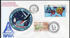 STS-41D : 1984 - 1ère mission de la navette Discovery