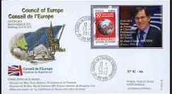 """CE63-IA : 2012 - FDC Conseil Europe """"Election Président du CE M. MIGNON"""