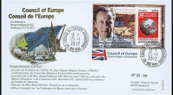 "CE63-IC : 2012 - FDC Conseil Europe ""Visite M. CAMERON"