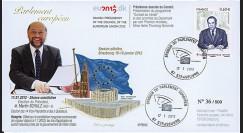 """PE612 : 2012 - FDC Parlement européen """"Election Président du Parlement M. SCHULZ"""""""