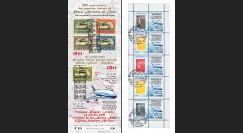 """A380-154C : 2011 - Carnet porte-timbres """"Livraison du 1er A380 China Southern Airlines"""""""