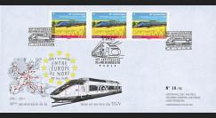 """TGV11-1 : 2011 - FDC """"Premier Jour - 30 ans de la Mise en Service du TGV 1981-2011"""""""