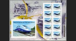 "TGV11-2F : 2011 - Carnet Collector 10 TPP ""Mise en Service TGV Rhin-Rhône"""