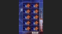 "GAGARIN11-7BN : 2011 - Feuillet KAZAKHSTAN ""GAGARINE - 50 ans 1er Homme dans l'Espace"""