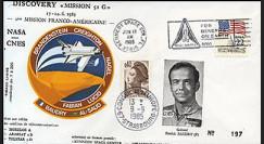 STS-51G : 1985 - 5ème mission navette Discovery et 1er français à bord