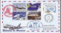 """A380-133 : 2011 - FFC """"Airbus A380 Air France - 1er Vol AF 028 Paris-Washington"""""""