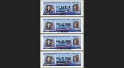 """LISA11S1-4 : 2011 - Série 4 LISA """"65e Salon Philatélique d'Automne - Black Penny & Cérès"""""""