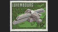 """PE172N : 1958-1988 - Luxembourg 1 valeur """"30 ans Banque Européenne d'Investissements"""""""
