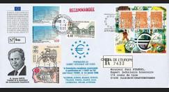 """PE364a : 1994 - Env. RECO Session PE """"M. Santer recommande 11 pays pour lancer l'euro"""""""