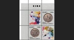 """PE391V4D : 1999 - Bloc de 4 vignettes dentelées """"EURO Irlande"""