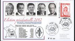 """PRES12-3 : France FDC """"Présidentielle 2012"""