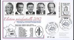 """PRES12-2 : France FDC """"Présidentielle 2012"""