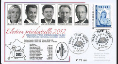 """PRES12-1 : France FDC """"Présidentielle 2012"""