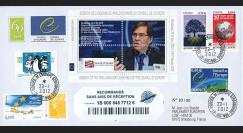"CE63-IAa : 2012 - Env. RECO Conseil Europe ""Election Pdt APCE M. MIGNON"