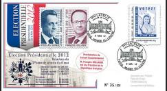 """PRES12-11 : France FDC """"Présidentielle 2012"""