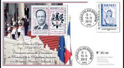 """PRES12-14 : France FDC """"Présidentielle 2012"""