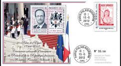 """PRES12-16 : France FDC """"Présidentielle 2012"""
