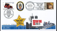 "WT11-5 : 2011 - FDC USA-FRANCE ""10 ans Attentat 11 Septembre"