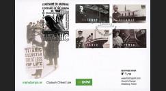 """TITA12-EIRE : 2012 - IRLANDE FDC 1er Jour """"1912-2012"""
