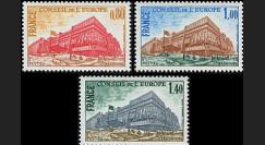 CE28-NF (Y&T 53/55) : 1977 -  TP de service du Conseil de l'Europe