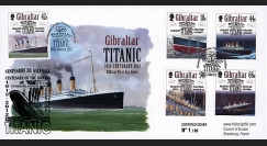 "TITA12-GIB : 2012 - GIBRALTAR (GB) FDC 1er Jour ""1912-2012"