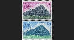 CE29-NF (Y&T 58/59) : 1978 -  TP de service du Conseil de l'Europe
