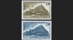 CE31-NF (Y&T 63/64) : 1980 -  TP de service du Conseil de l'Europe