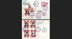 """CASSIOP96-BL2 : 1996 - EP ex-URSS """"Lancement SOYOUZ TM-24 - Mission CASSIOPÉE"""""""