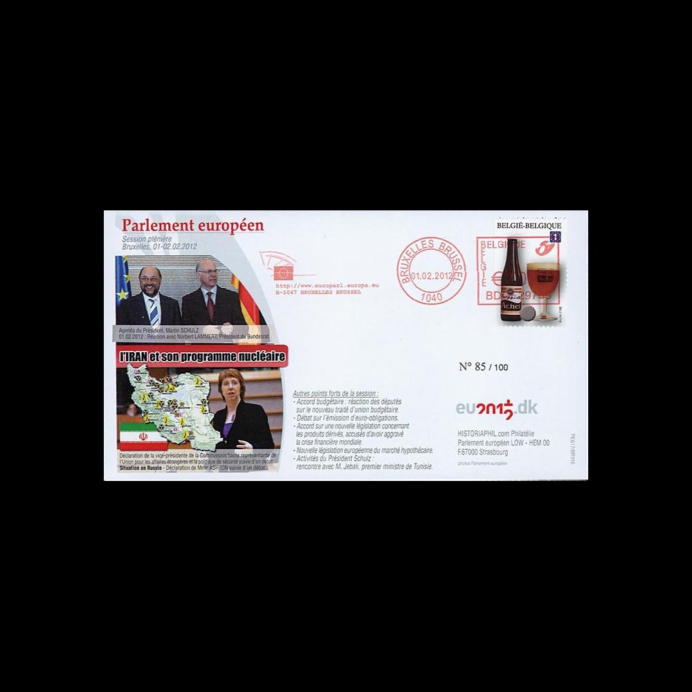 """BR116 : 02.12 - FDC Bruxelles """"Mme Ashton - Nucléaire en Iran - M. Lammert"""