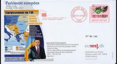 "BR117 : 03.12 FDC Bruxelles ""UE : Serbie"