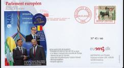 """BR118 : 05.12 FDC Bruxelles """"Fête de l'Europe - Ponta"""