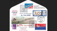 """CO2000-1 : FFC voyagé à bord du Concorde F-BVFF """"1er vol de l'an 2000"""