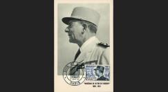 """W2-FR982B1S : 1954 - France CM """"Mal De Lattre de Tassigny"""