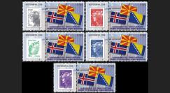 """PE618-PT1-5 : 2012 - 5 porte-timbre """"Parlement européen : Elections russes"""