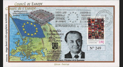 "CE45-IVAT1 : 1994 - FDC Conseil Europe ""M. Ion ILIESCU"