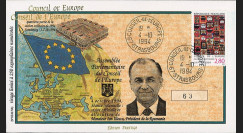 "CE45-IVAT3 : 1994 - FDC Conseil Europe ""M. Ion ILIESCU"