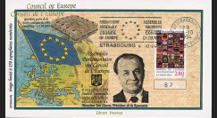 "CE45-IVAT2 : 1994 - FDC Conseil Europe ""M. Ion ILIESCU"