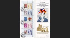 """DG12-5CT2 : 2012 - Carnet """"50 ans Réconciliation franco-allemande"""