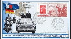 """DG12-1 : 2012 - FDC """"50 ans Réconciliation franco-allemande"""