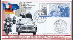 """DG12-2 : 2012 - FDC """"50 ans Réconciliation franco-allemande"""