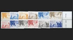 """DG12-3P1/6D : 2012 - Vignettes """"50 ans Réconciliation franco-allde"""