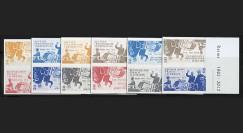 """DG12-3P1/6ND : 2012 - Vignettes """"50 ans Réconciliation franco-allde"""