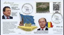 """PE623 : 2012 - FDC Parlement européen """"Référendum Destitution BASESCU"""