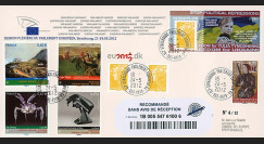 """PE620a : 2012 - FDC RECO Parlement européen """"Mme Ioulia TIMOCHENKO"""