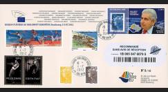 """PE622a : 2012 - FDC RECO Parlement européen """"Visite M. CHRISTOFIAS"""