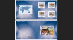 "A380-175C : 2012 - Carnet Collector 4 TPP ""A380 Air France - 1er Vol Paris-Singapour"""