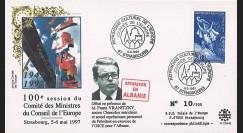 """CE48-IIB : 2012 - FDC Comité des Ministres du CE """"Situation en Albanie - M. Vranitzky"""""""