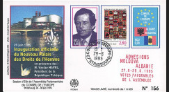 "CE46-III : 1995 - FDC CE ""M. HAVEL"